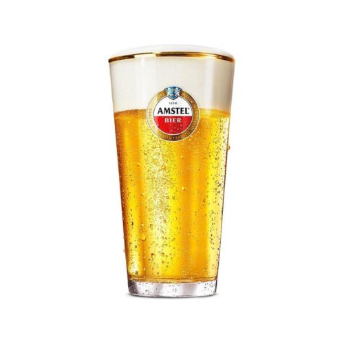 Bierglas vaasje Amstel