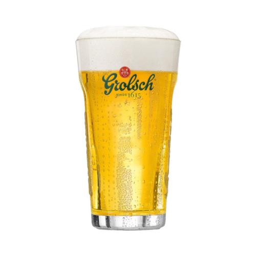 Grolsch vaasje bierglas