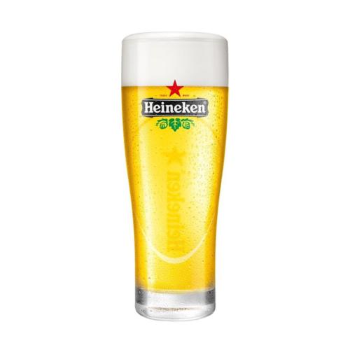 Heineken bierglazen ellipse