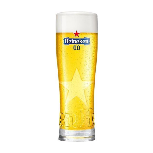 Heinken bierglas 0.0% Star 250ml