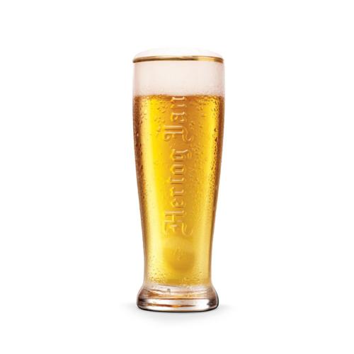 Bierglas van het biermerk Hertog Jan