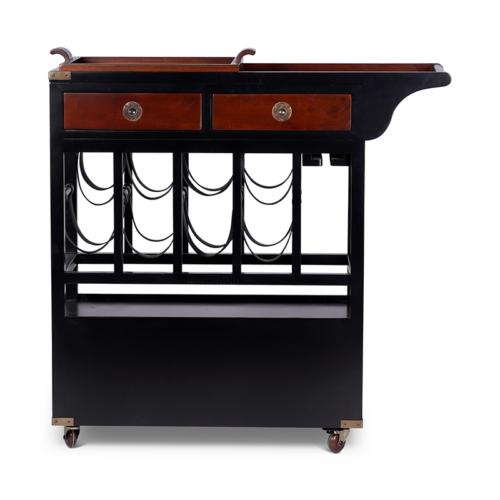 Authentic Models klassieke bar trolley